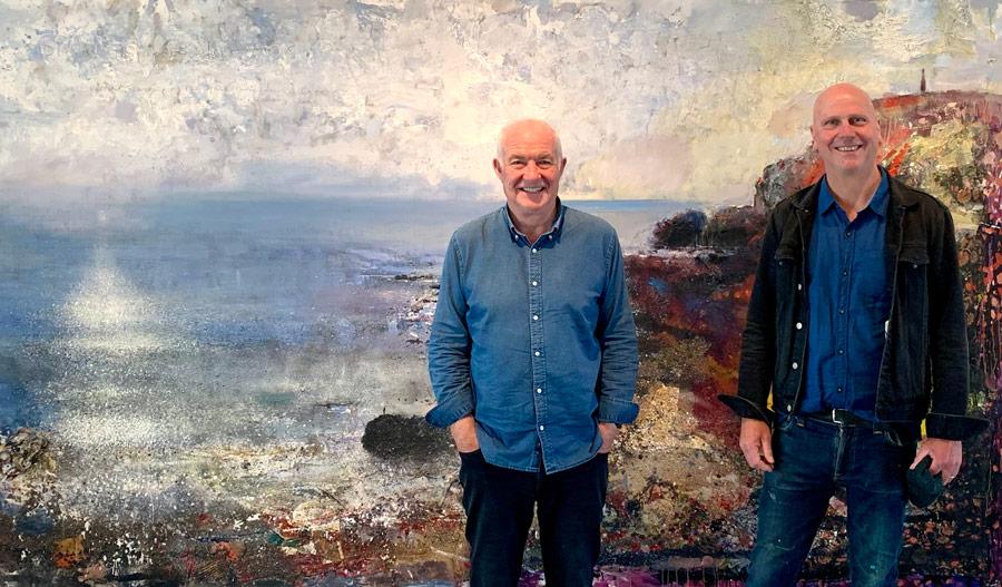 Rick Stein and Kurt Jackson
